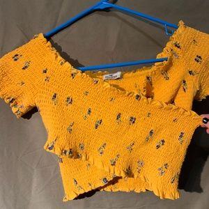 Hollister crossed shirt